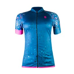 Camisa Ciclismo Feminina Ultracore Colorful Vintage