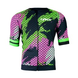 Camisa Ciclismo Lynce Abstract Colors