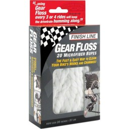 Fio de Microfibra Finish Line Gear Floss
